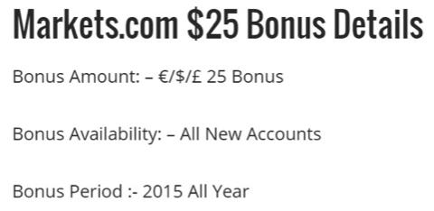 bonus markets.com