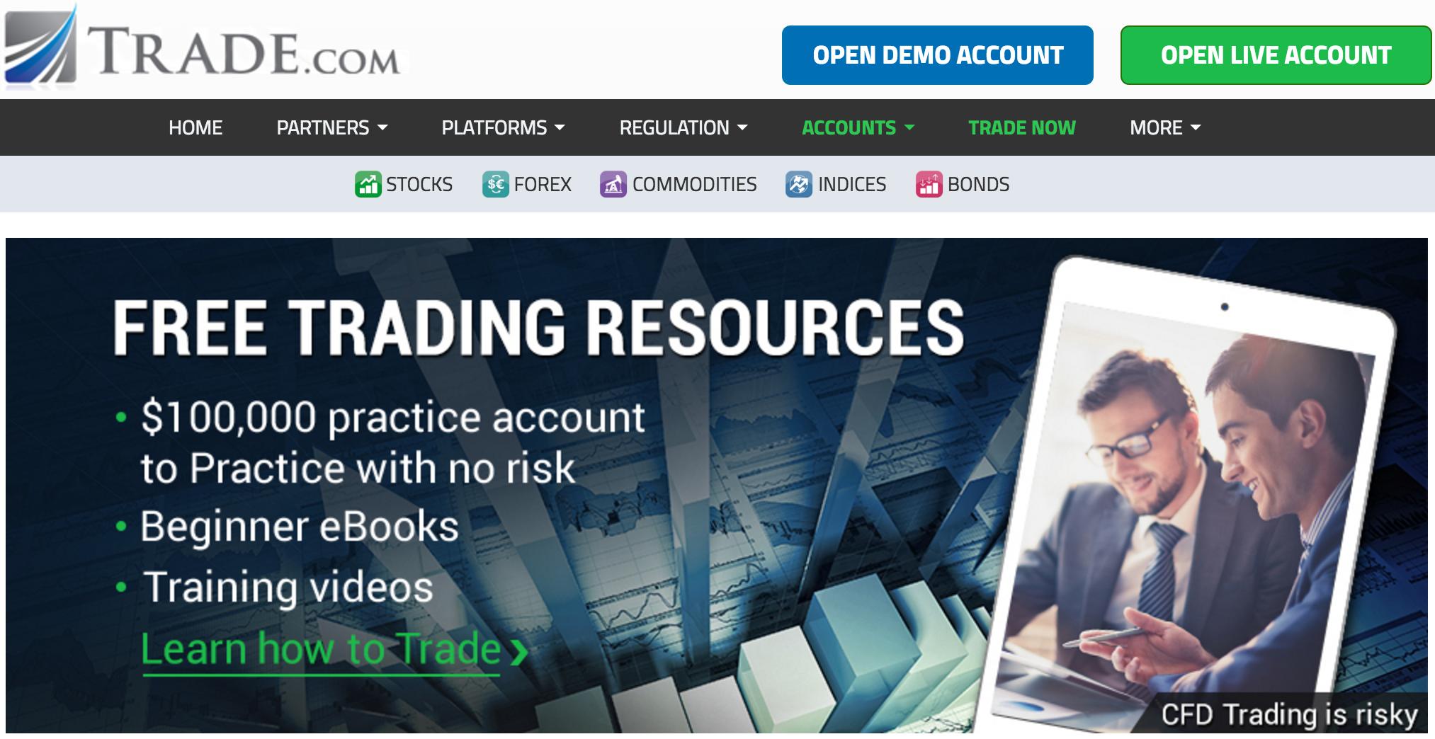 trade.com broker home